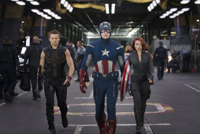 hawkeye black widow vengadores avengers