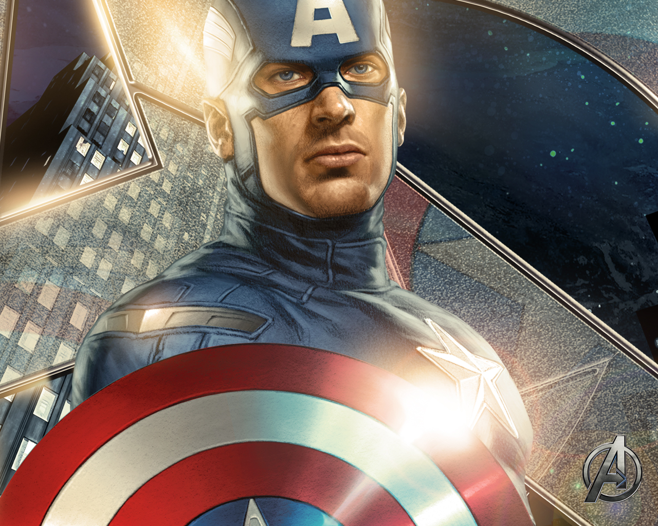 capitan america avengers wallpaper