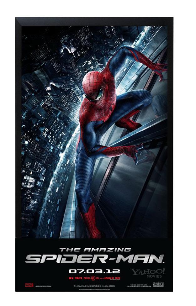 hombre araña poster offset