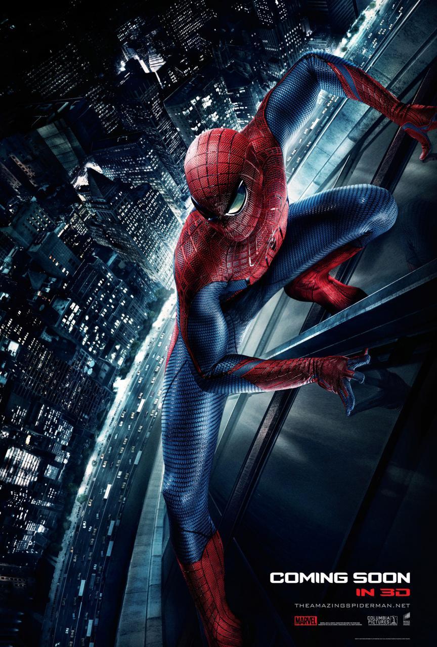 hombre araña poster internacional