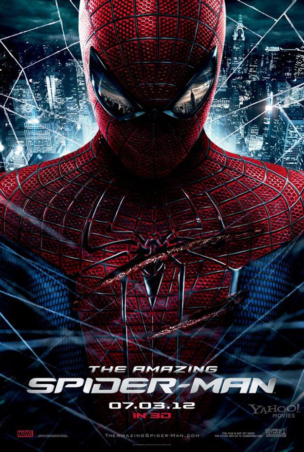 hombre araña poster herido