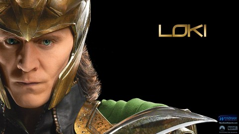 wallpaper loki avengers