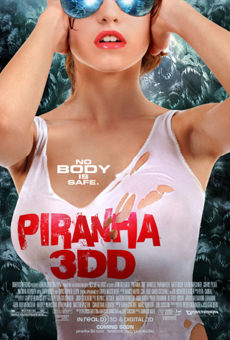 piranha 3dd poster DD