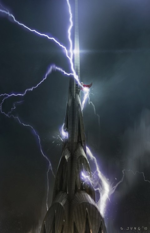 Arte Conceptual: Los Avengers por Steve Jung