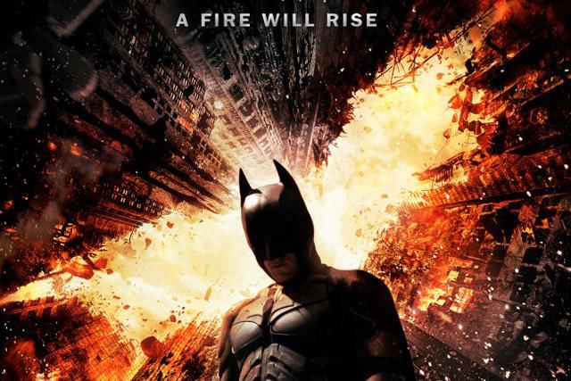 caballero noche asciende fire will rise batman