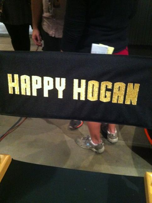 happy hogan iron man 3 silla