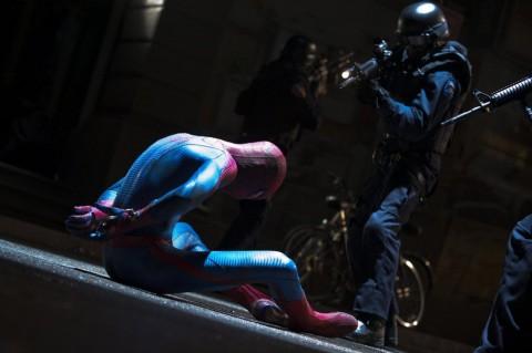 swat hombre araña