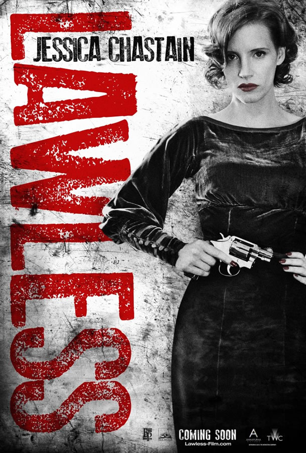 jessica chastain lawless maggie