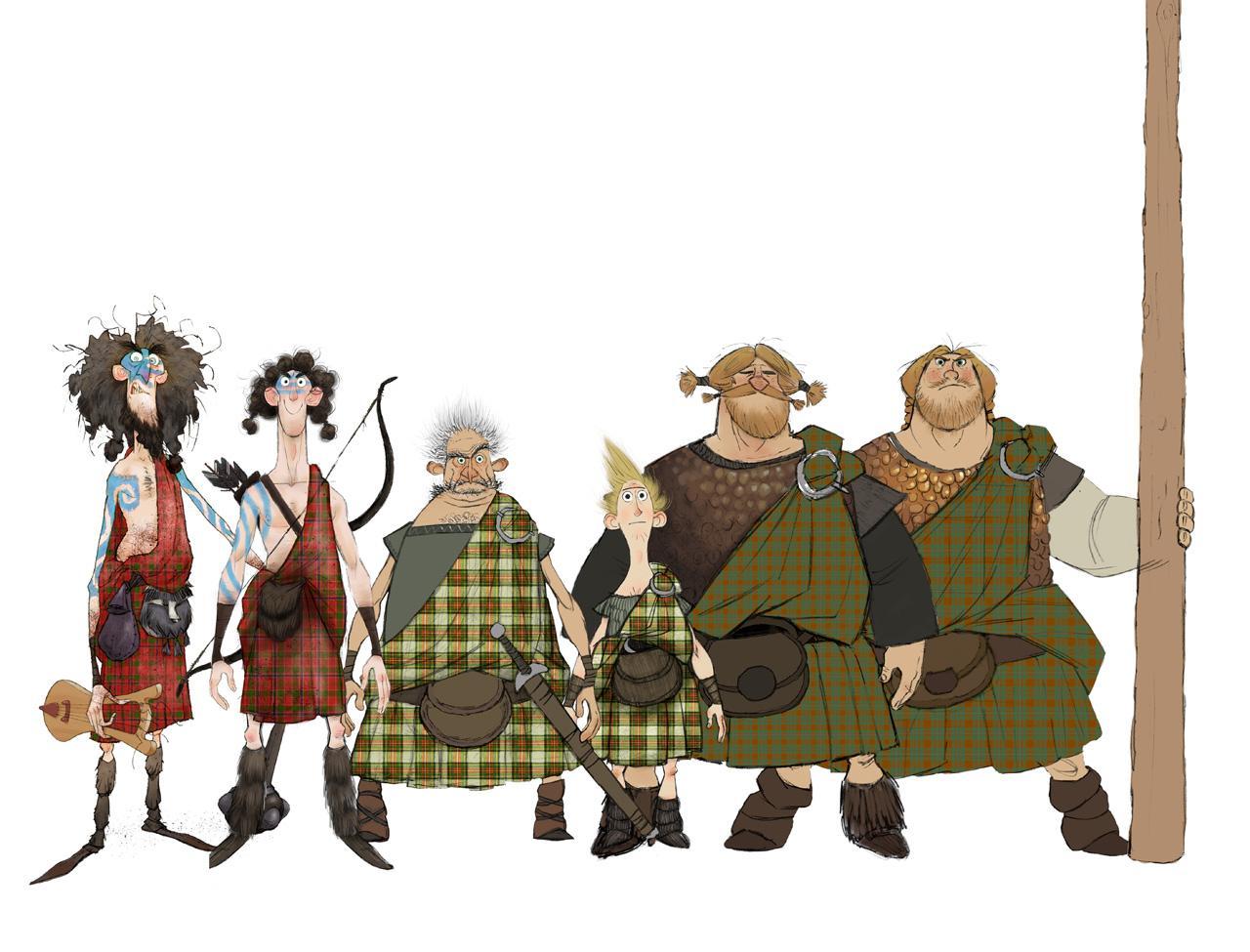 Character Design From The Ground Up Book : Más personajes de valiente pixar cinergetica