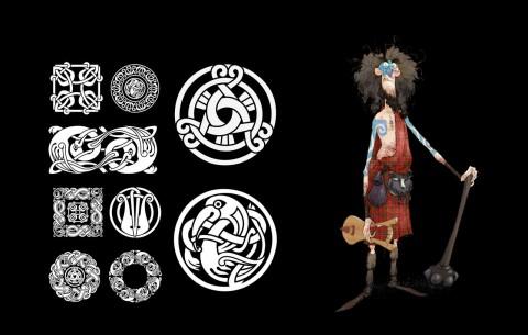 valiente macintosh simbolos clan pixar