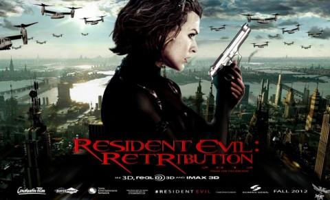 resident evil retribucion poster