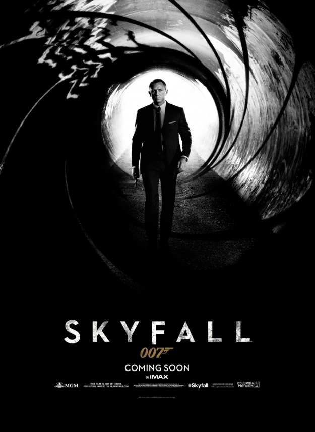 skyfall james bond poster