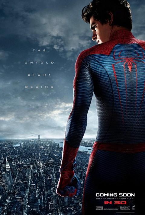 sorprendente hombre araña poster