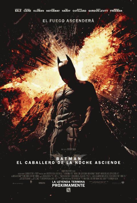 caballero noche asciende poster mexico