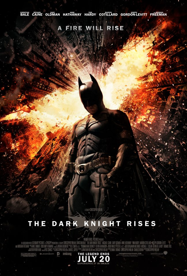 a fire will rise dark knight poster