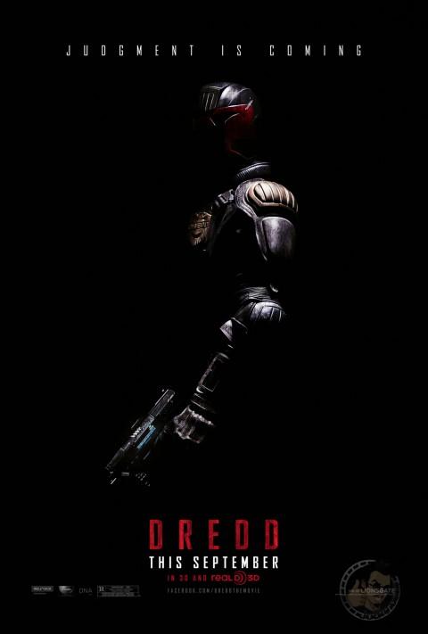 juez dredd poster 2012