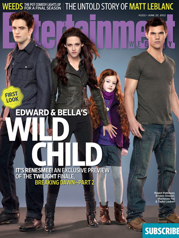 renesmee jacob bella edward cullen