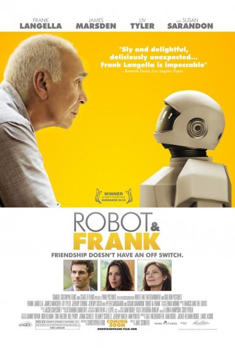 robot frank poster