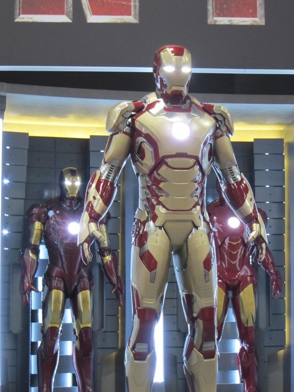 la nueva armadura de iron man 3 cinergetica. Black Bedroom Furniture Sets. Home Design Ideas