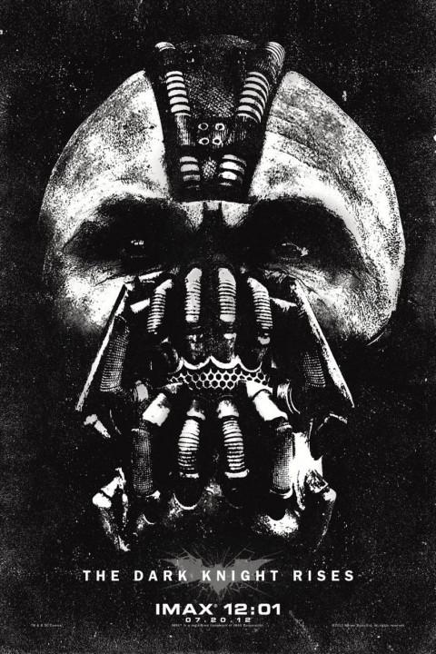 batman asciende bane imax poster