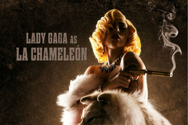 lady gaga chamaleon machete kills