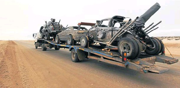 mad max fury road vehiculos