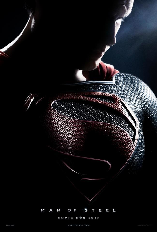 man steel poster superman 2013