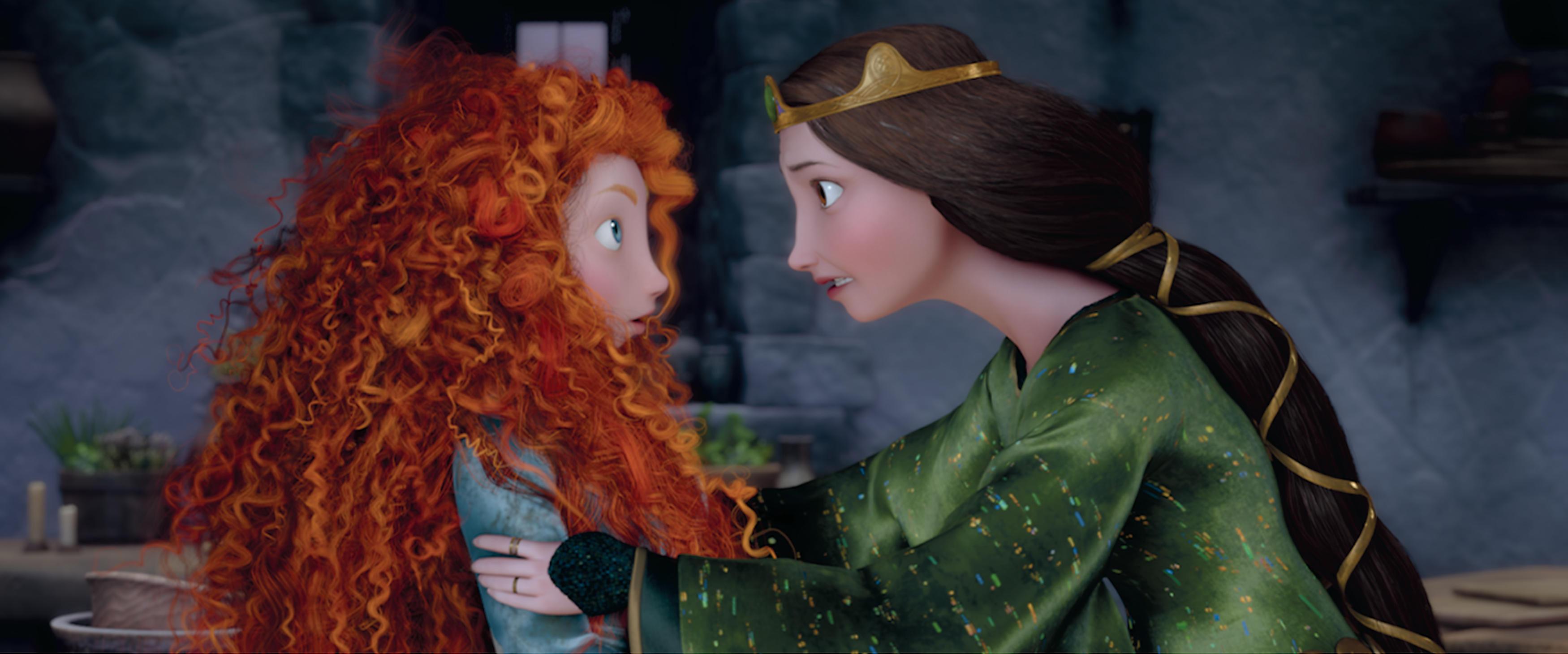 princesa merida elinor valiente