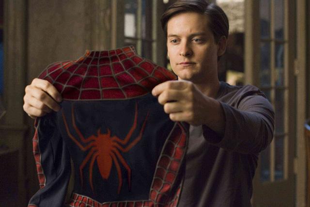 hombre araña tobey maguire