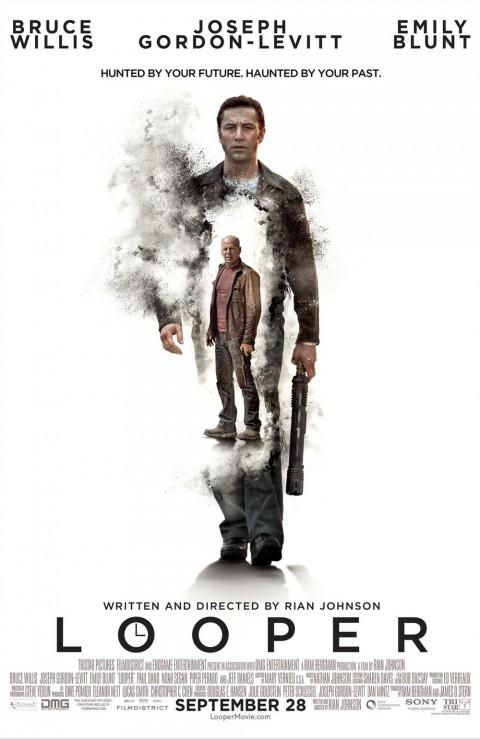 asesino futuro poster looper
