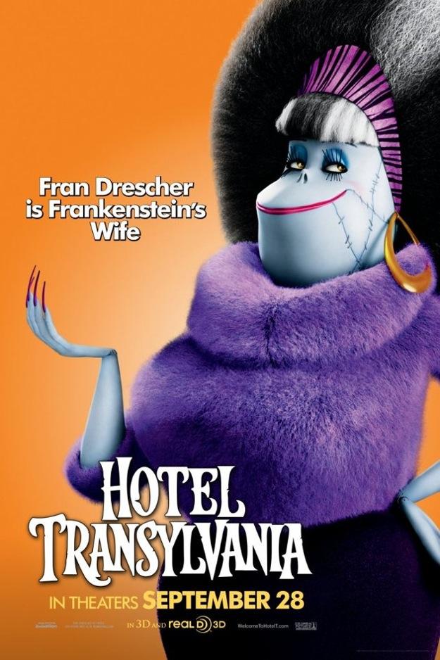 esposa frankenstein hotel transylvania