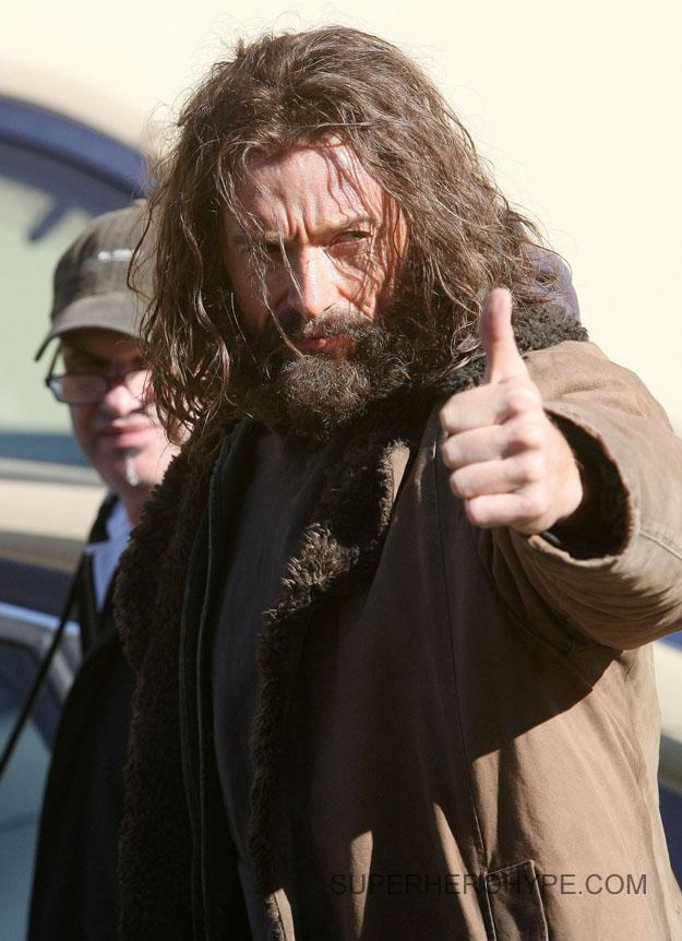 wolverine hugh jackman barba 2012