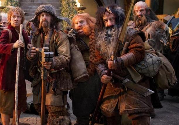 bilbo enanos hobbit viaje inesperado