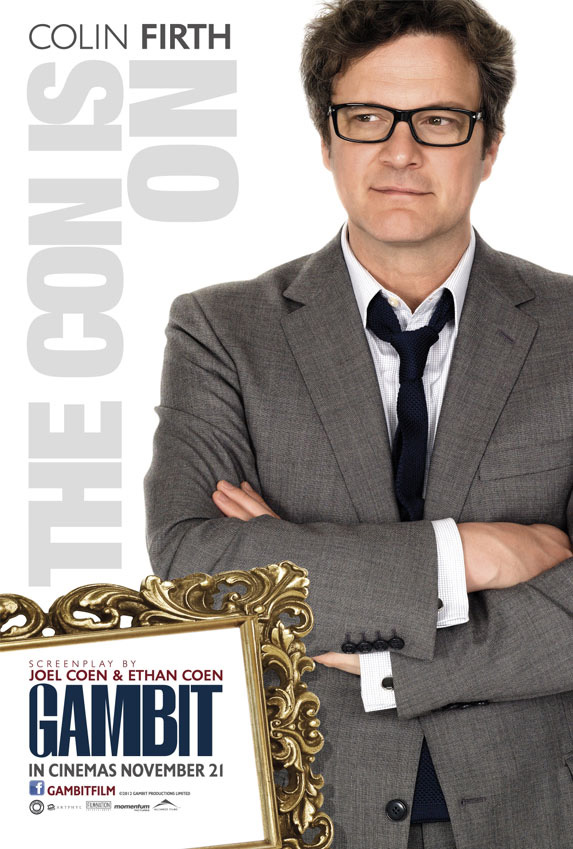 gambit colin firth poster