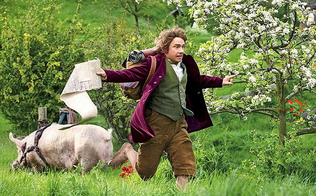 hobbit martin freeman bilbo bolson