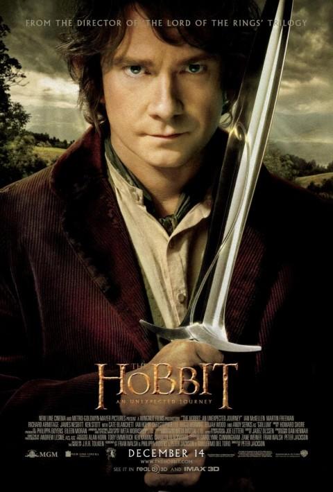 hobbit poster viaje inesperado bilbo