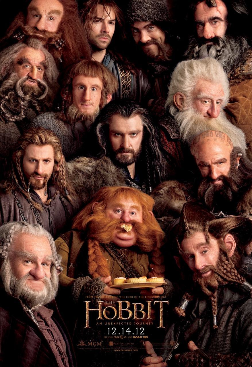 hobbit viaje inesperado enanos