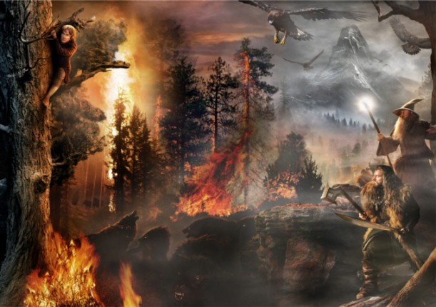 hobbit viaje inesperado escena final