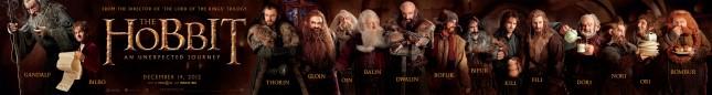 personajes hobbit enanos viaje inesperado nombres