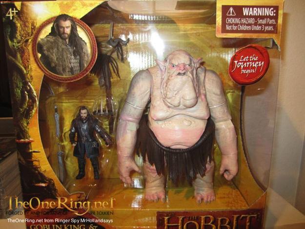 rey duende juguete hobbit viaje inesperado