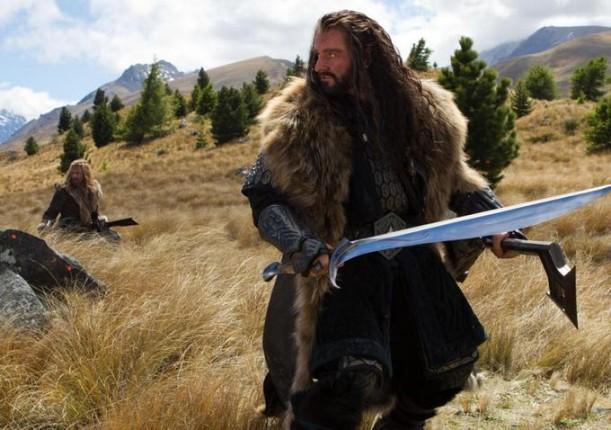 thorin escudo roble viaje inesperado hobbit