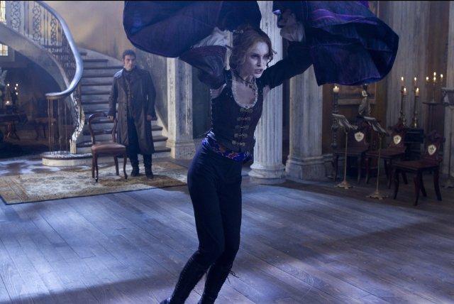 vampira abraham lincoln cazador vampiros