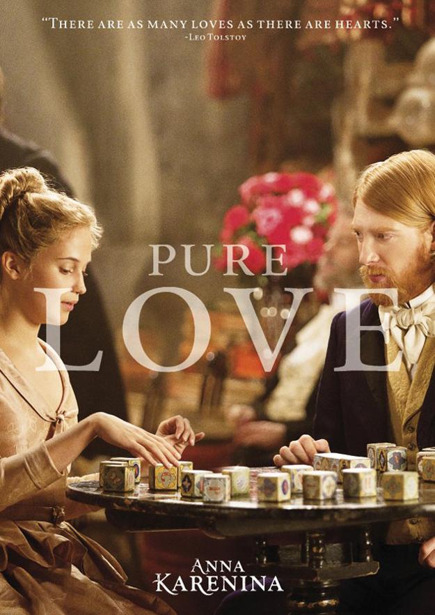 anna karenina amor puro poster