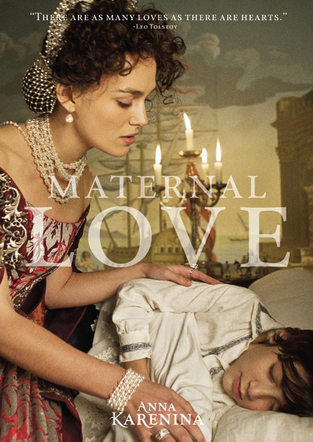 anna karenina amor maternal poster