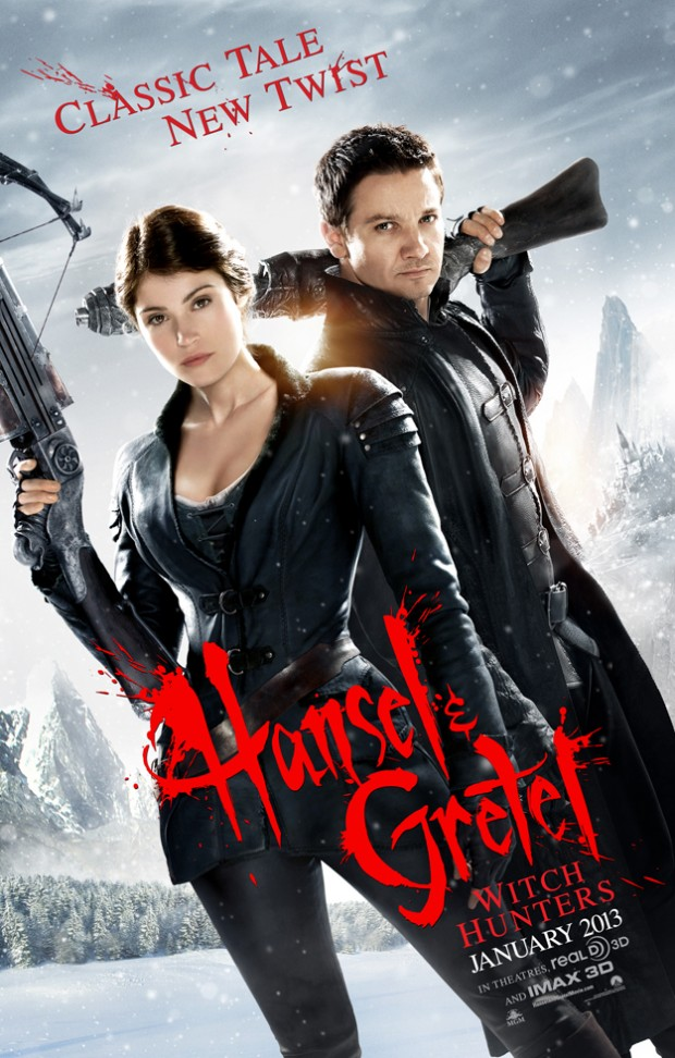 hansel gretel cazadores brujas poster