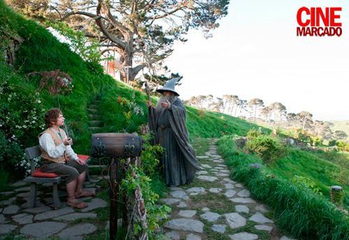 hobbit viaje inesperado bilbo gandalf