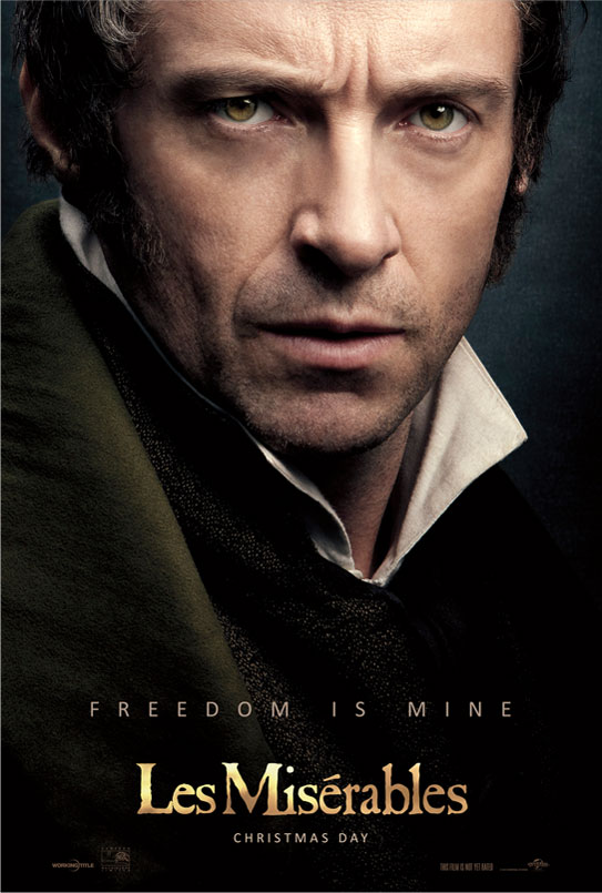 hugh jackman poster les miserables