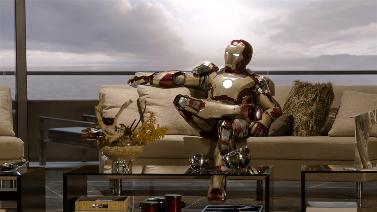 iron man 3 relajado