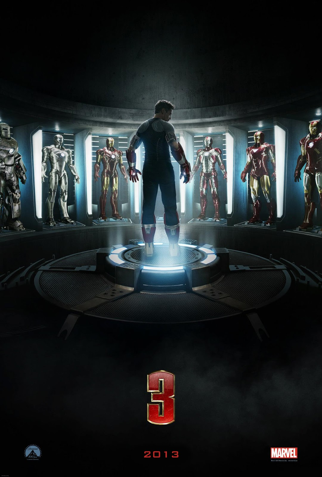 teaser poster iron man 3 latino