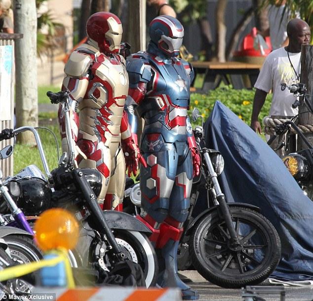 nuevo iron man 3 iron patriot 2013